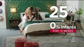 Ashley HomeStore Venta del Fin de Semana del Día de los Presidentes TV Spot, 'Ahorre 25%' [Spanish] - Thumbnail 4