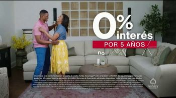 Ashley HomeStore Venta del Fin de Semana del Día de los Presidentes TV Spot, 'Ahorre 25%' [Spanish] - Thumbnail 5