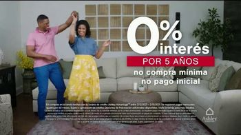 Ashley HomeStore Venta del Fin de Semana del Día de los Presidentes TV Spot, 'Ahorre 25%' [Spanish] - Thumbnail 6