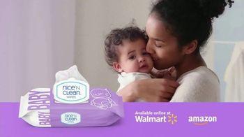 Nice 'N Clean Sensitive Skin Baby Wipes TV Spot, 'Healthy Snuggling: Sensitive Skin'