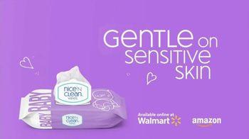 Nice 'N Clean Sensitive Skin Baby Wipes TV Spot, 'Healthy Snuggling: Sensitive Skin' - Thumbnail 6
