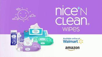 Nice 'N Clean Sensitive Skin Baby Wipes TV Spot, 'Healthy Snuggling: Sensitive Skin' - Thumbnail 9