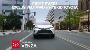 2021 Toyota Venza TV Spot, 'First of Its Kind' [T2] - 128 commercial airings