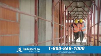 Jim Glaser Law TV Spot, 'Workers' Comp or Social Security' - Thumbnail 1
