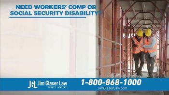 Jim Glaser Law TV Spot, 'Workers' Comp or Social Security' - Thumbnail 2
