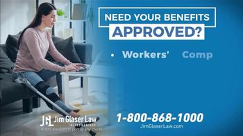 Jim Glaser Law TV Spot, 'Workers' Comp or Social Security' - Thumbnail 5