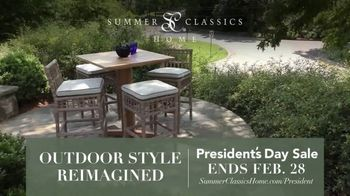 Summer Classics Presidents Day Sale TV Spot, 'Gear Up for Sunny Days'