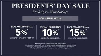 Summer Classics Presidents Day Sale TV Spot, 'Gear Up for Sunny Days' - Thumbnail 7