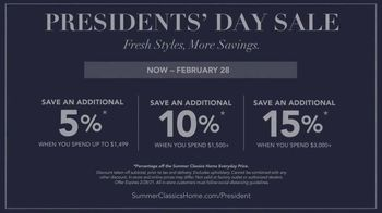Summer Classics Presidents Day Sale TV Spot, 'Gear Up for Sunny Days' - Thumbnail 8