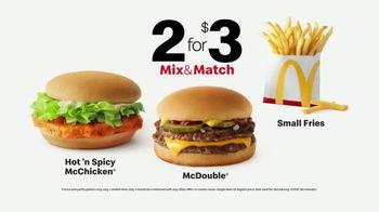 McDonald's 2 for $3 Mix & Match TV Spot, 'Team Player: 'Spicy McChicken' - Thumbnail 7