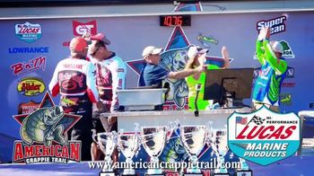 Lucas Marine Products TV Spot, 'American Crappie Trail'