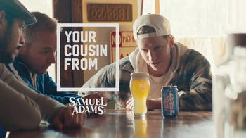 Samuel Adams Wicked Hazy IPA TV Spot, 'Your Cousin From Boston Gets Served' Featuring Gregory Hoyt - Thumbnail 2