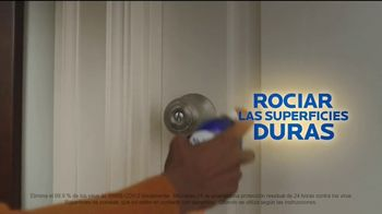 Microban 24 Hour Sanitizing Spray TV Spot, 'Sigue eliminando bacterias durante 24 horas'  [Spanish] - Thumbnail 4