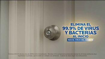 Microban 24 Hour Sanitizing Spray TV Spot, 'Sigue eliminando bacterias durante 24 horas'  [Spanish] - Thumbnail 5