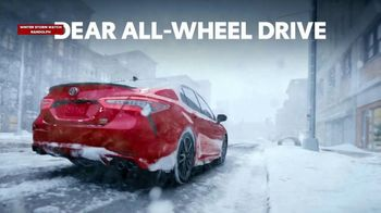 Toyota Presidents Day TV Spot, 'Dear All-Wheel Drive' [T2] - Thumbnail 1