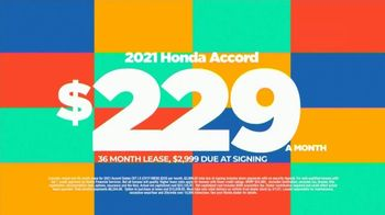 2021 Honda Accord TV Spot, 'Save Now: Accord' [T2] - Thumbnail 3