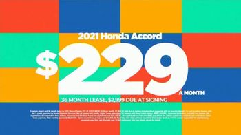 2021 Honda Accord TV Spot, 'Save Now: Accord' [T2] - Thumbnail 6
