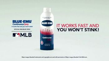 Blue-Emu Continuous Spray TV Spot, 'Works Fast and You Won't Stink' - Thumbnail 4