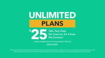 Total Wireless Unlimited Plans TV Spot, 'Trusted Data: Nationwide 5G' - Thumbnail 10