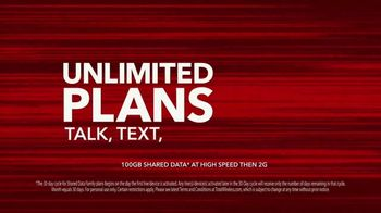 Total Wireless Unlimited Plans TV Spot, 'Trusted Data: Nationwide 5G' - Thumbnail 5