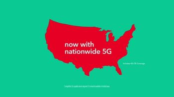 Total Wireless Unlimited Plans TV Spot, 'Trusted Data: Nationwide 5G' - Thumbnail 6