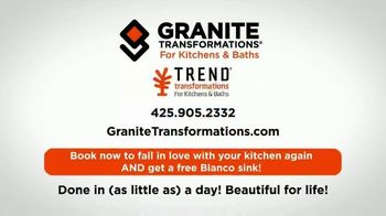 Granite Transformations TV Spot, 'New Year, New Kitchen' - Thumbnail 9