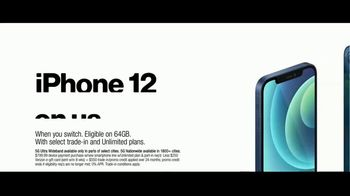 Verizon TV Spot, 'The 5G America's Been Waiting For: Incredible: iPhone 12' - Thumbnail 6