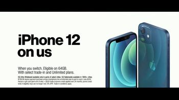 Verizon TV Spot, 'The 5G America's Been Waiting For: Incredible: iPhone 12' - Thumbnail 7