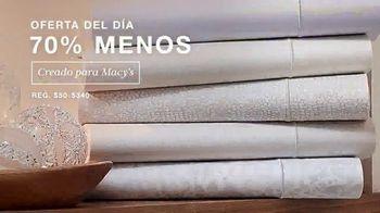 Macy's Venta de Un Día TV Spot, 'Oferta del día: sábanas y ropa para invierno' [Spanish] - Thumbnail 1
