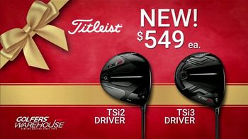 Golfers' Warehouse TV Spot, 'Holidays: Titleist' Featuring Justin Thomas
