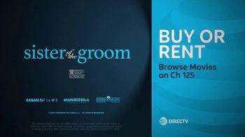 DIRECTV Cinema TV Spot, 'Sister of the Groom' - Thumbnail 10