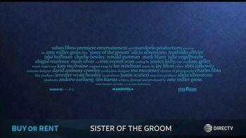 DIRECTV Cinema TV Spot, 'Sister of the Groom' - Thumbnail 9
