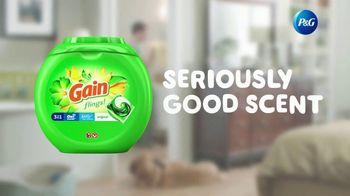 Gain Flings! TV Spot, 'Dog's Towel: Scent Boosters' - Thumbnail 9