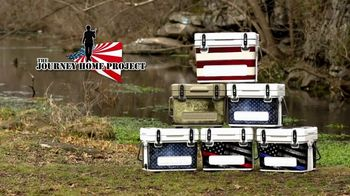 Mammoth Coolers Heritage Series TV Spot, 'The Journey Home Project Donations'