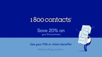 1-800 Contacts TV Spot, 'Bianca: FSA and 20% Off' - Thumbnail 9