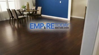 Empire Today 75% Off Sale TV Spot, 'Now's the Time to Get New Floors' - Thumbnail 1