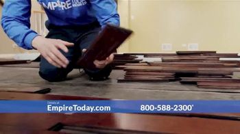 Empire Today 75% Off Sale TV Spot, 'Now's the Time to Get New Floors' - Thumbnail 4