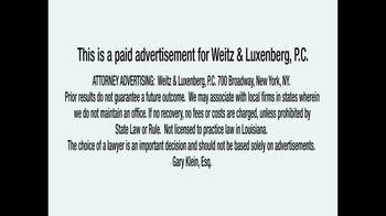 Weitz & Luxenberg P.C. TV Spot, 'Legal Helpline: Mesothelioma' - Thumbnail 1