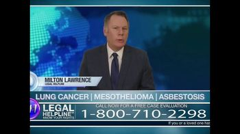 Weitz & Luxenberg P.C. TV Spot, 'Legal Helpline: Mesothelioma' - Thumbnail 2