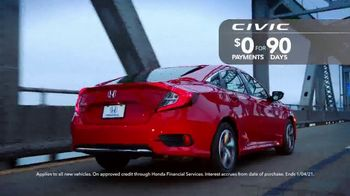 Happy Honda Days Sales Event TV Spot, 'Save 2020: Accord and Civic' [T2] - Thumbnail 4