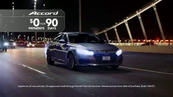 Happy Honda Days Sales Event TV Spot, 'Save 2020: Accord and Civic' [T2] - Thumbnail 5