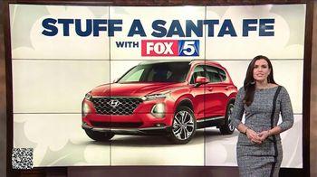 Hyundai Holidays Sales Event TV Spot, 'FOX 5: Stuff a Santa Fe' [T2] - Thumbnail 5