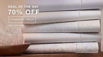 Macy's One Day Sale TV Spot, 'Holidays: Sheets, Coats and Macy's Money' - Thumbnail 3
