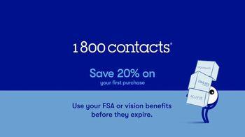 1-800 Contacts TV Spot, 'Helen: 20% and FSA' - Thumbnail 6