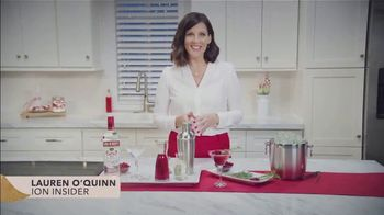 Smirnoff No. 21 Vodka TV Spot, 'Ion Television: Your Home for the Holidays' Featuring Lauren O'Quinn - Thumbnail 2