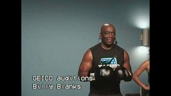 GEICO TV Spot, 'GEICO Claims Audition: Billy Blanks'