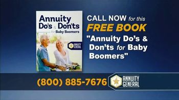Annuity General TV Spot, '40% More Income in Retirement'