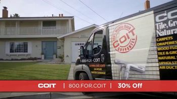 COIT TV Spot, 'Deep Clean Just About Everything: 30% Off' - Thumbnail 1