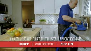 COIT TV Spot, 'Deep Clean Just About Everything: 30% Off'