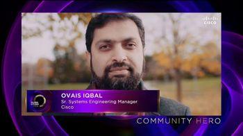 Cisco TV Spot, 'Community Hero: Ovais Iqbal' - Thumbnail 2